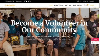 Goodwish Volunteer